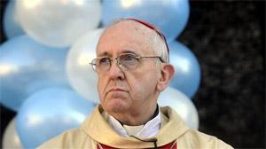 Bergoglio como papa