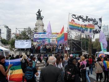 Convocatoria por la ley de identidad de género
